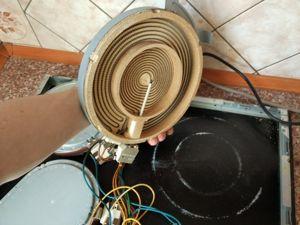 Замена конфорки на электроплите Харьков